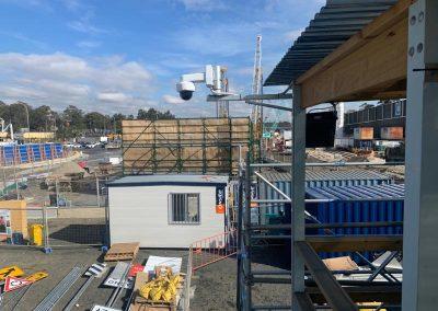 Installation of CCTV cameras at Rozelle Intercahnge