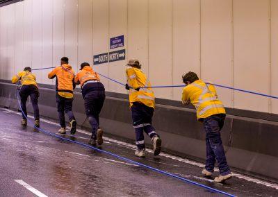 Global Utility Construction lays Sydney Harbour Tunnel Optical Fibre